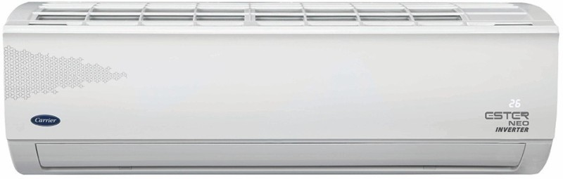 Carrier 2 Ton 5 Star Split Inverter AC - White(24K 5 Star Ester Neo Hybridjet Inverter R32 (I017) / 24K 5 Star Hybridjet Inv. R32 ODU (I017), Copper Condenser)