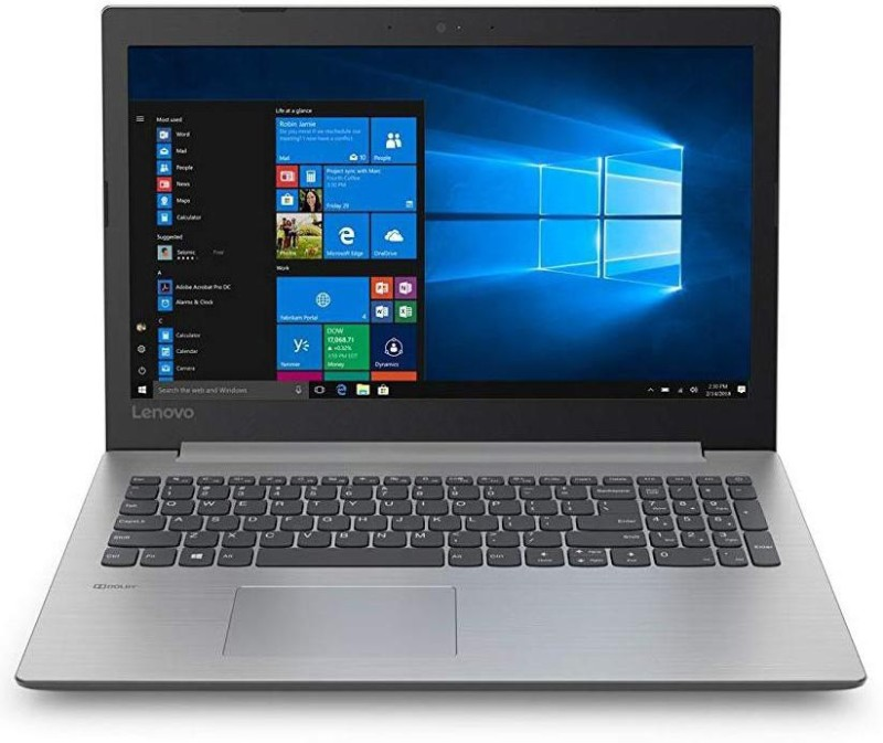 Lenovo Ideapad APU Dual Core A4 7th Gen - (4 GB/1 TB HDD/Windows 10) 330 Laptop(15.6 inch, Plantinum Gray, With MS Office)