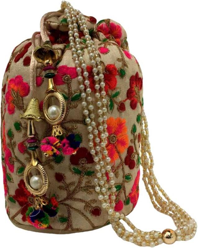 Zeleen Rajasthani Potli Potli(Multicolor)