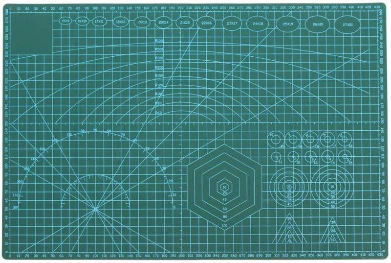Yashus MNJIU-001 Cutting Mat(30 cm x 45 cm)