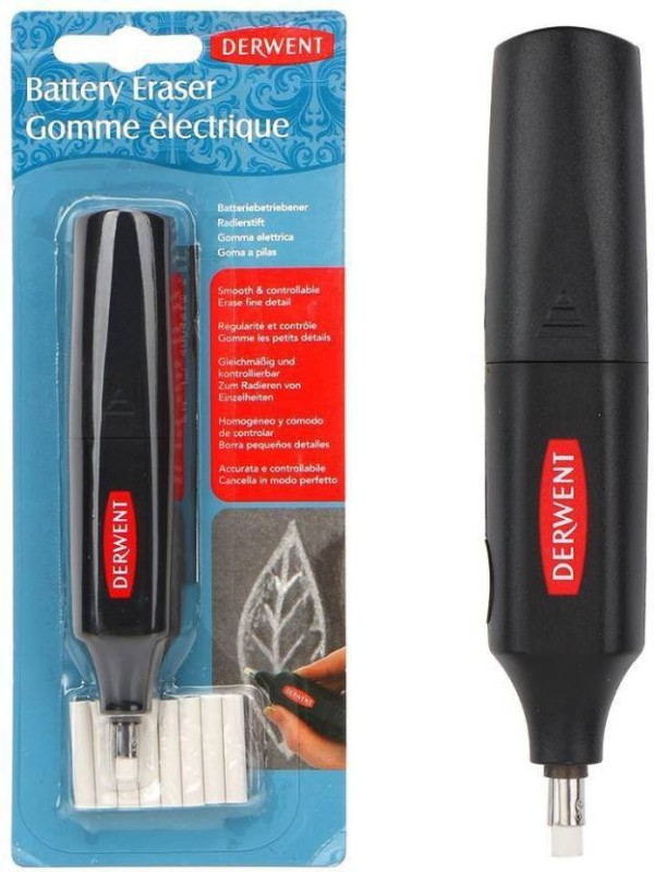 DERWENT BATTERY Cordless Electric Eraser