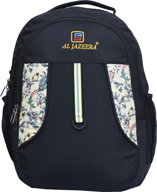 Al Jazeera Unisex Printed Laptop Backpack 20 L Laptop Backpack(Black)