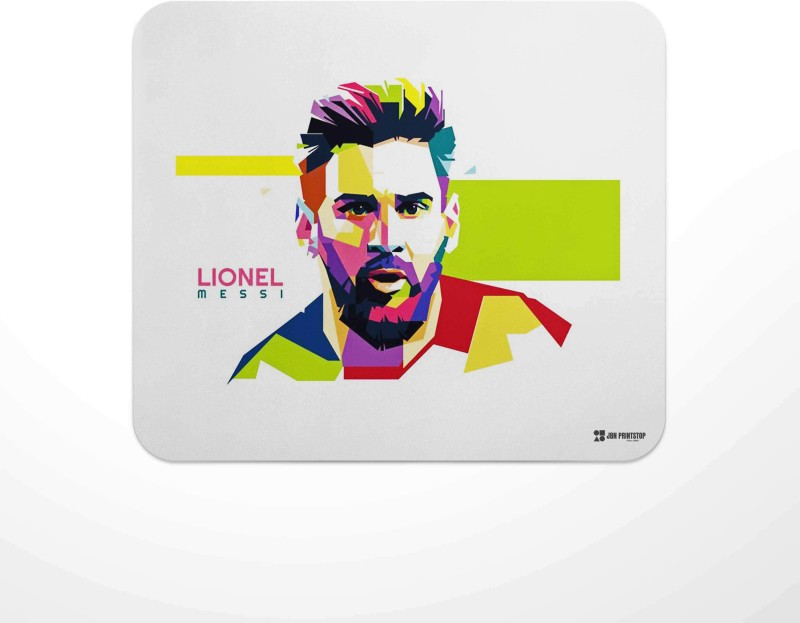 Jbn Anti Skid Technology Mouse Pad for Laptops and Computers   Pack of 1 Mousepad(Multicolor)