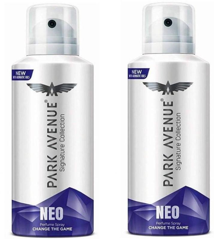 Park Avenue NEO Deodorant Spray - For Men & Women(280 ml, Pack of 2)