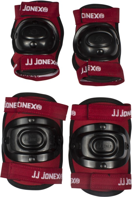 JJ Jonex Protection kit set of 2 for skating, Cycling, Running @ Kin Store Skating Guard Combo(Red, Blue)