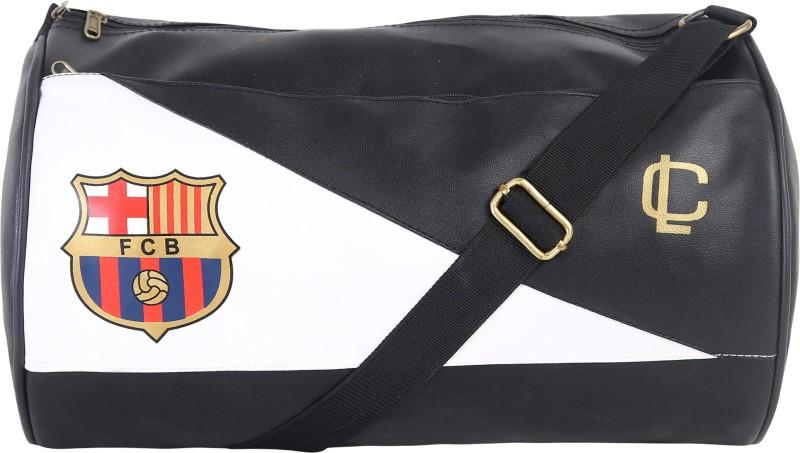 LOUIS CARON Sports Bag Sports Bag(Black, Kit Bag)