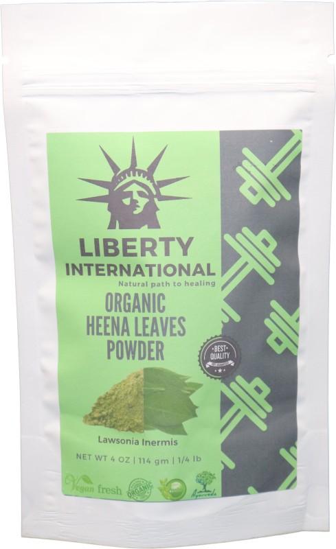 LIBERTY INTERNATIONAL Organic Herbal Henna Precious Herb Mix Fresh Powder Hair Color For Greying Hair NT50(114 g)