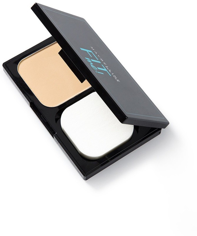 Maybelline New York Fit Me Two Way Cake (Powder Foundation) Compact(110 Porcelain, 9 g)