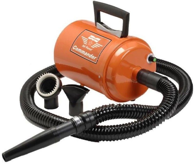 Metrovac Air Force Commander Variable Speed Pet Dryer(Orange)