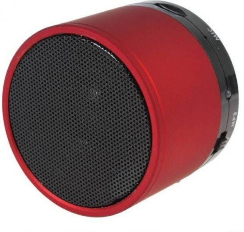 EWELL S10 LED Light Enabled Speaker with TF Micro SD Memory Cards Slot FM Radio Aux Cable Functionality Premium High Quality Product Extra Bass Play Mp3 Mp4 New Arrival Best Selling Lowest Price Supports All Android and Ios Smartphones Tablets Laptops Devices Red 3 W Bluetooth Speaker(Red, 2.1 Chan