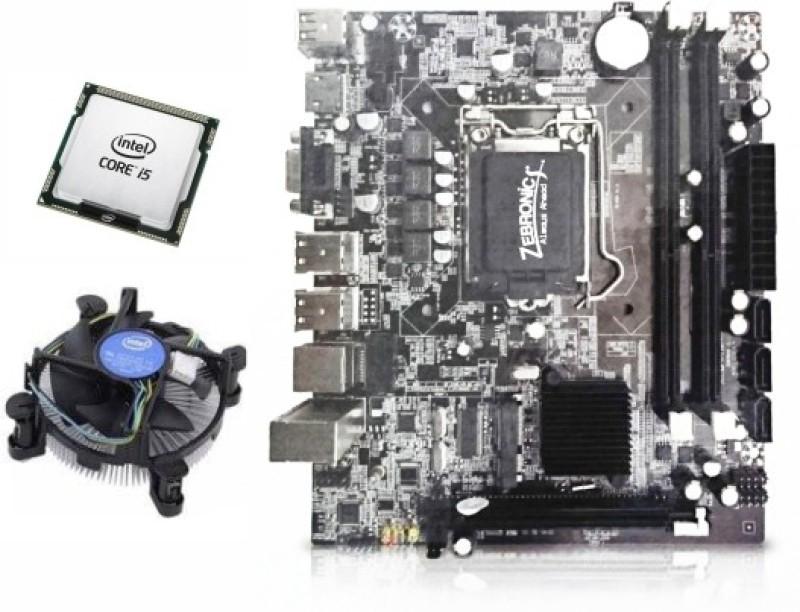 Zebronics CORE i5 650 Combo Motherboard(DARK BROWN)