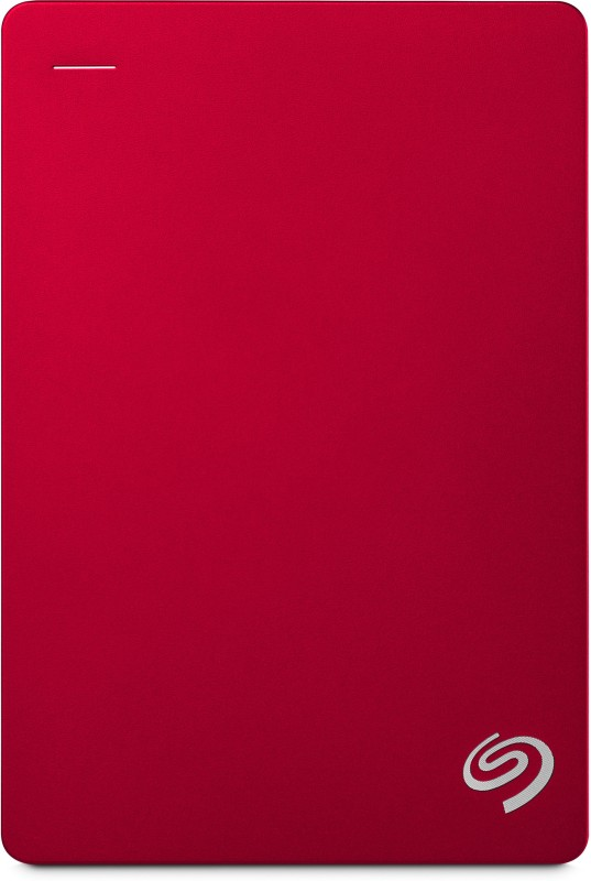 Seagate Backup Plus Portable 5 TB Wired(Red)