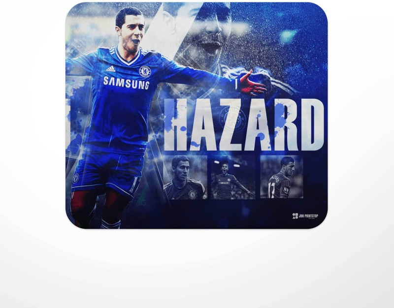 Jbn Hazard Chelsea   Premium Gaming Mousepad   Anti-Slip Rubber Base   Designer Mouse Pad   Anti Skid Technology Mouse Pad for Laptops and Computers   Pack of 1 Mousepad(Multicolor)