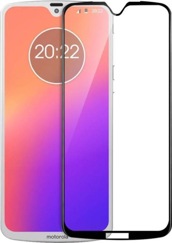 Karpine Edge To Edge Tempered Glass for Motorola Moto G7(Pack of 1)