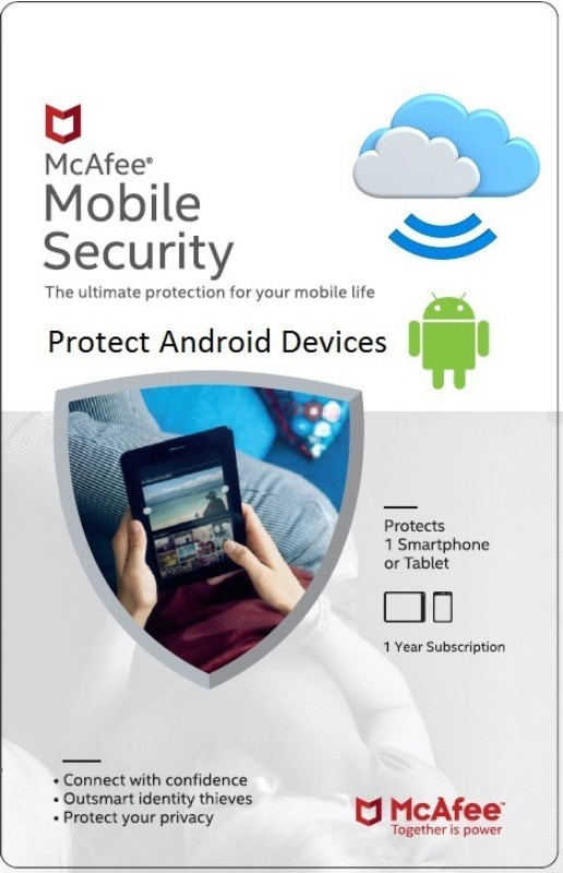 McAfee Mobile Security 1 User 1 Year(Voucher)