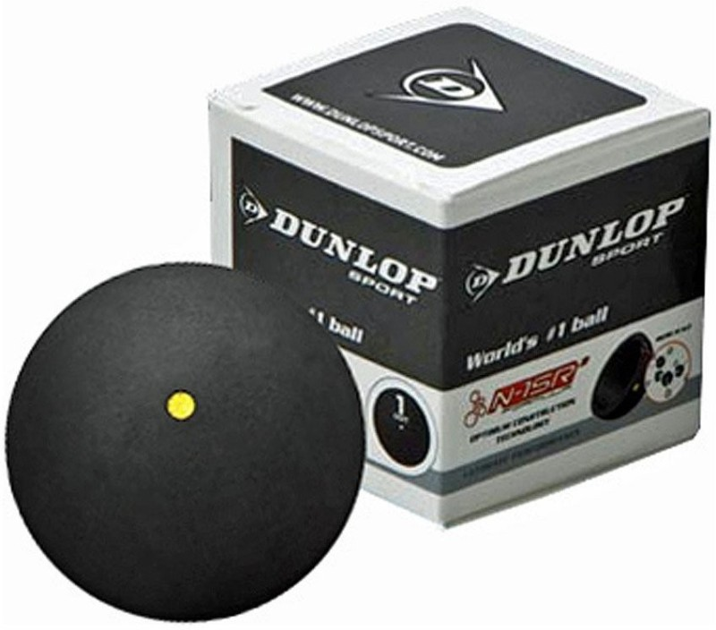DUNLOP COMPETITION Squash Ball(Pack of 1, Multicolor)