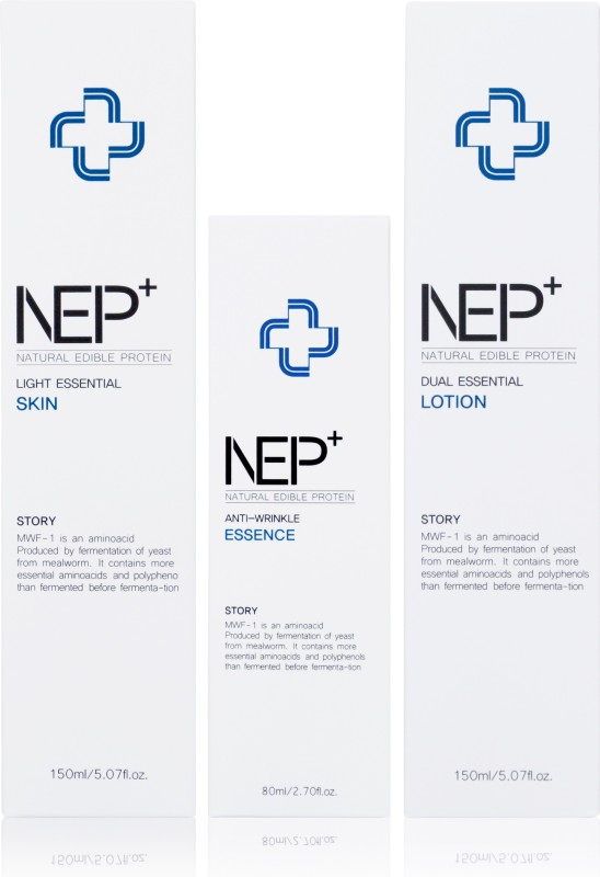 NEP+ The Trio for Skin Care Set (Skin, Lotion, Essence) Combo(380 ml)