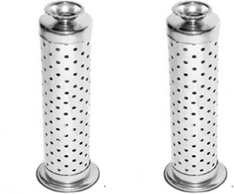 Metroz Dhoop Deep Agarbatti Stand (Pack of 2 Pcs) Stainless Steel Incense Holder(Steel)