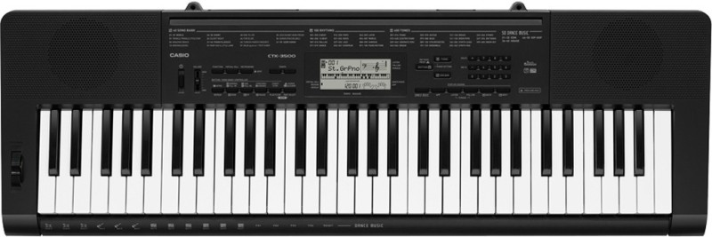 Casio CTK-3500 KS40 Digital Portable Keyboard(61 Keys)