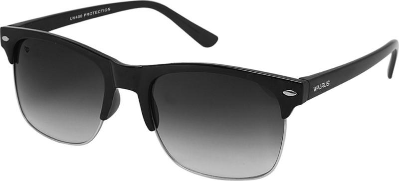 Walrus Wayfarer Sunglasses(Black)