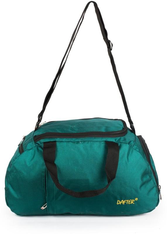 dafter 20 Inch Travelling Gym Bag with Shoes Pocket Gym Bag(Blue)