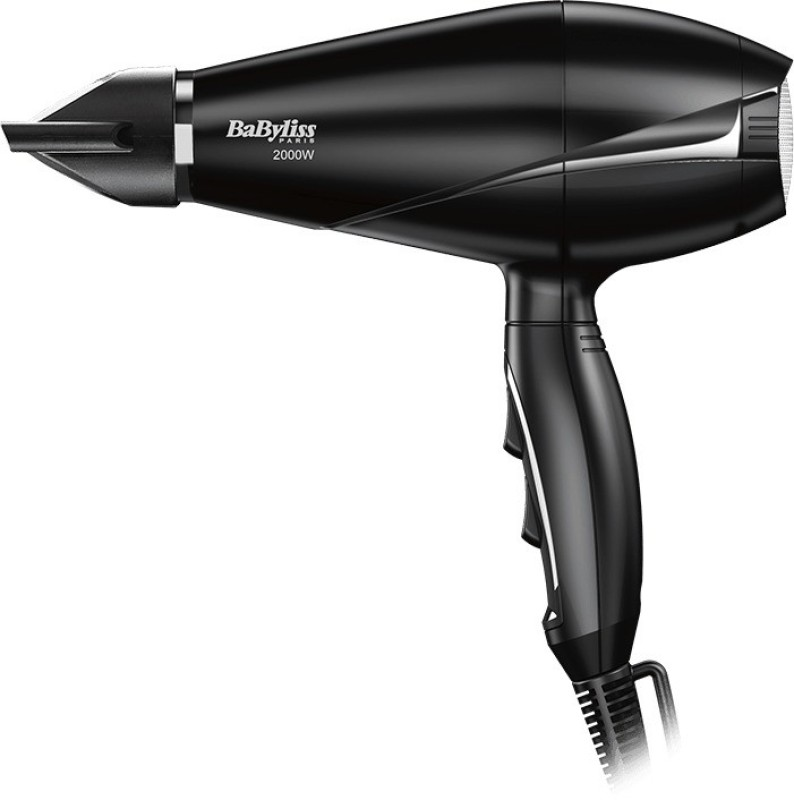 BaByliss LE PRO LIGHT 6604SDE Hair Dryer(2000 W, Black)