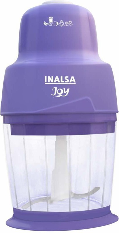 Inalsa Joy Electric Mini 250 W Chopper(Purple)