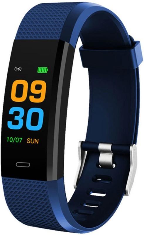 Bingo F0s Fitness smart band (Blue)(Blue Strap, Size : normal)