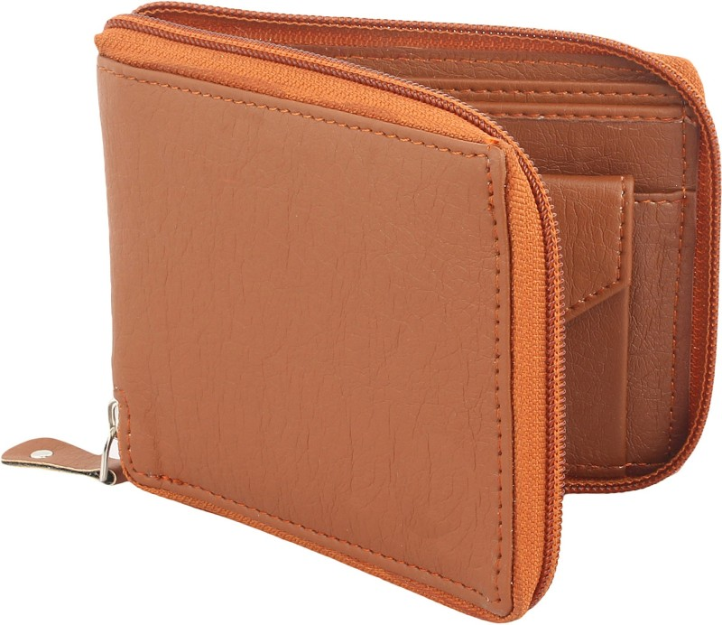 WILDEDGE Girls Brown Artificial Leather Wallet(5 Card Slots)