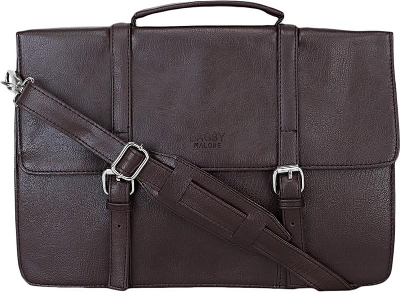 Bagsy Malone Men & Women Brown Messenger Bag
