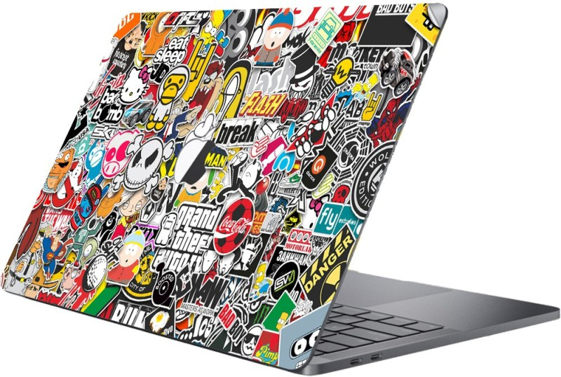 GADGETS WRAP MCBK-GW2942 - Printed sticker bomb Skin Top Vinyl Laptop Decal 11