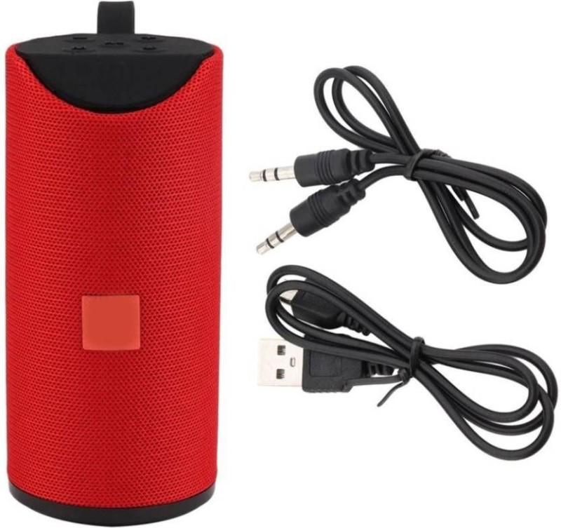 WEBSTER sound Super Bass 10 W Bluetooth Speaker(Red, 4.1 Channel)