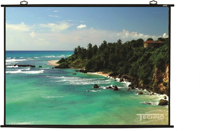 Technolite 6 Ft x 4 Ft 84 Inches Diagonal 4:3 Projector Screen (Width 182 cm x 121 cm Height)