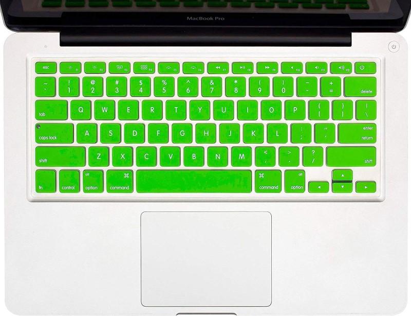 Tobo Keyboard Silicon Skin Cover, Keyboard Skin Protector for MacBook (Green) laptops Keyboard Skin(Green)