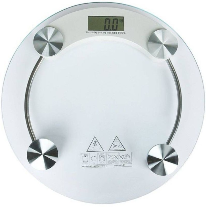 ZINIZONY 2003A Weighing Scale(White, Silver)