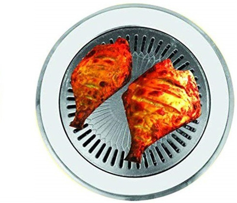 Chefman Gas Tandoor Indoor Smokeless Non-Stick Coating Grill Multi-Functional Grill -Black Gas Grill
