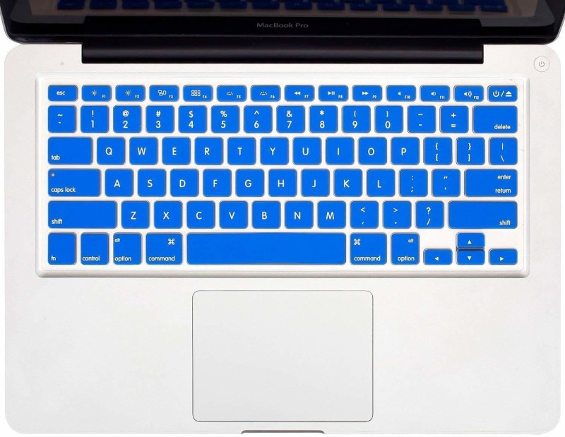 Tobo Keyboard Silicon Skin Cover, Keyboard Skin Protector for Laptops Keyboard Skin(Royal blue)