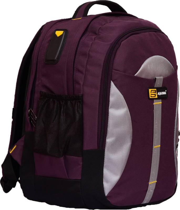 Al Jazeera 17 inch inch Laptop Backpack(Purple)