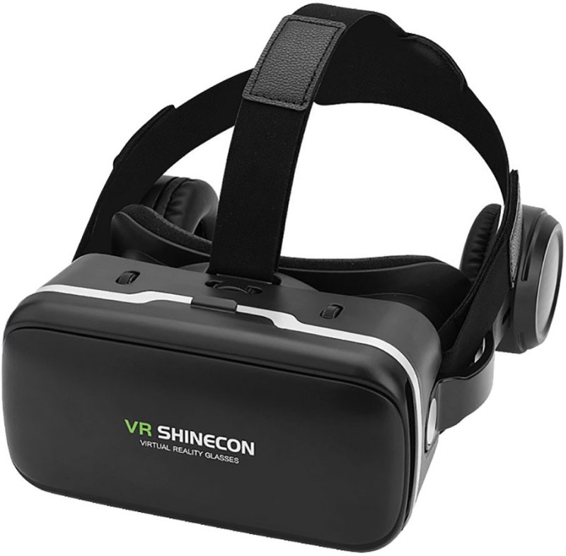 Shinecon Virtual Reality Headset, New Version 9.0 VR Headset 3D VR Glasses for TV, Movies & Video Games with Free bluetooth Remote control - VR Goggles Compatible with iOS, Android and Other Phones Within 4.7-6.0 inch Screen(Smart Glasses)