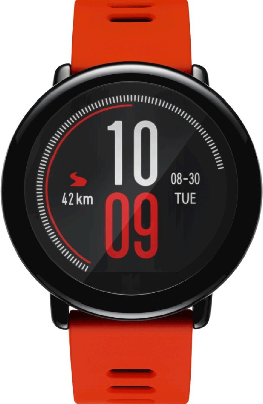 Huami Amazfit **** Smartwatch(Red Strap Regular)