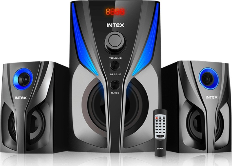 Intex JAZZ 2.1 55 W Bluetooth Home Theatre(Black, 2.1 Channel)