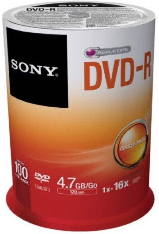 Sony DVD Recordable Spindle 4.7 GB