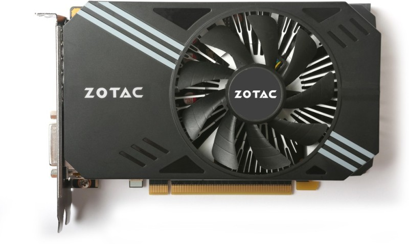 ZOTAC NVIDIA Geforce GTX 1060 6 GB GDDR5 Graphics Card(Black)