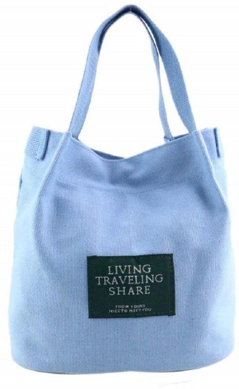 Mei&Ge Blue Hand-held Bag