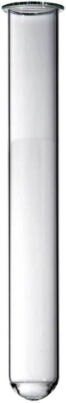 QUANTICO 3 ml Plain Borosilicate Glass Test Tube(7.5 cm 200 K Pack of 100)