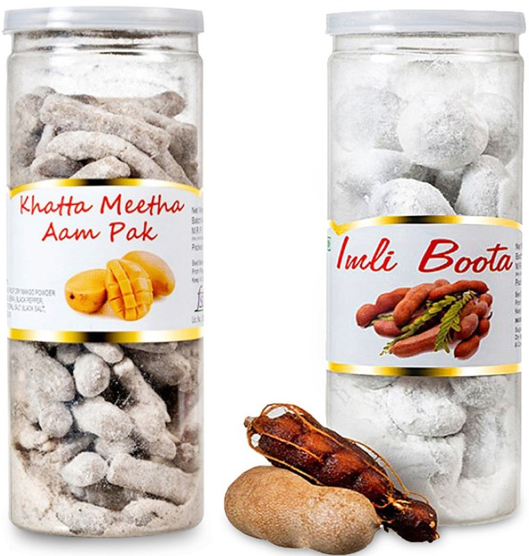 Shadani Khatta Meetha Aam Pak & Imli Boota Blast Flavour Candy(2 x 230 g)