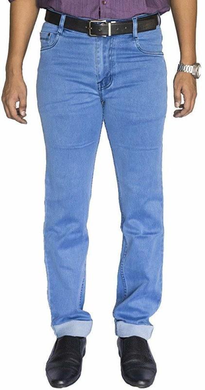 0-Degree Slim Men Light Blue Jeans
