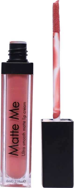 verma brends matte me lipstick & lipglos liquid(light nude, 6 ml)