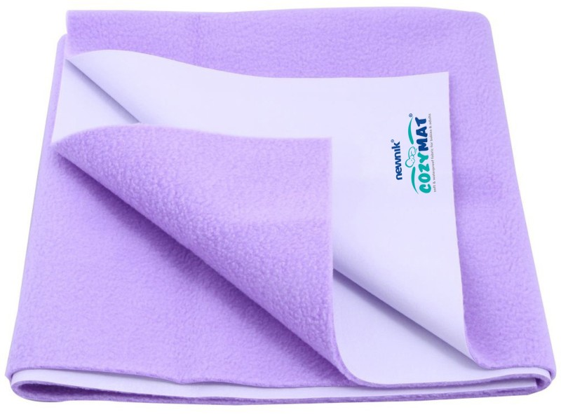 Cozymat Soft, Waterproof, Reusable Mat / Underpad / Quick / Absorbent Dry Sheets / Mattress Protector, Double Bed (200cm*260cm)(Purple)
