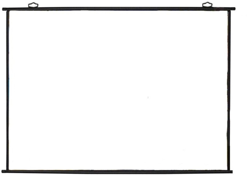 Royality projector white screen 01 Projector Screen (Width 115.5 cm x 44.5 cm Height)
